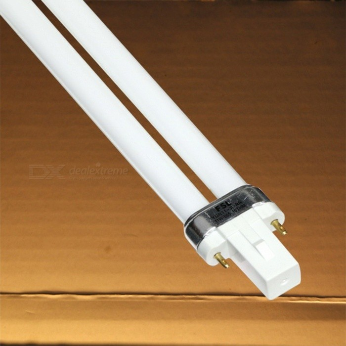 Fluorescent Compact Bi-Pin Desktop Light Lamp Replace Linear Twin Tube CFL Light 2G11 9W 11W Available for Electric Ballast