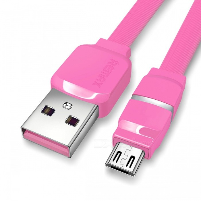 REMAX Breathable LED Micro USB Data Cable, 2.1A Smart Fast Charging / Data Sync