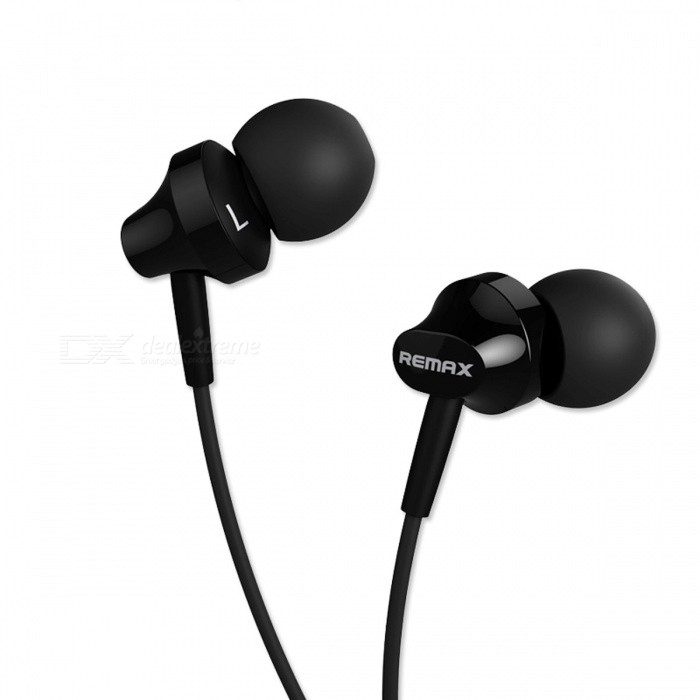 REMAX BASE-DRIVEN HIFI Bass Noise Reduction 3.5mm Wired Earphone, Stereo Sound Comfortable