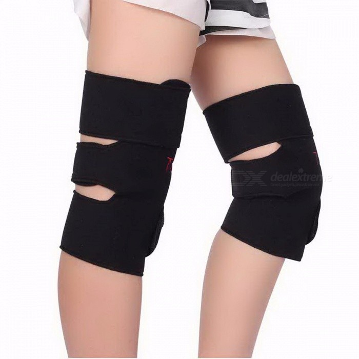 1Pair Comfortable Tourmaline Self Heating Kneepad Magnetic Therapy Knee Support, Heating Belt Knee Massager Brace MDescription<br><br><br><br><br>Item Type: Braces &amp;amp; Supports<br><br><br>Brand Name: Tcare<br><br><br><br><br>Effect: Release Pain From Illness<br><br><br>Material: Other<br><br><br><br><br><br><br><br><br><br><br><br>The functional principle of Magnetic protective gear:<br><br><br>&amp;nbsp;&amp;nbsp;&amp;nbsp; Magnetic therapy is the use of <br>artificial magnetic field in the bodys acupoint, meridians &amp;amp; <br>collaterals. No side effects. Safe and reliable.<br><br><br>&amp;nbsp;&amp;nbsp;&amp;nbsp;&amp;nbsp; The tourmaline protector <br>series of Tcare can soothe meridians &amp;amp; collaterals and massage <br>acupoint with the heat spell of nano material contacting with the skin <br>and the embedded magnet. It can not cure our disease, but Magnetic <br>therapy can increase blood flow and magnetic heating effect helping to <br>relax muscles and reduces fatigue.<br><br><br>&amp;nbsp;<br><br><br>Suitable for:<br><br><br>1. As a gift to our <br>father/mother/grandfather/grandmother/maternal grandfather/maternal <br>grandmother, take good care of them health.<br><br><br>2.People who always work sedentarily or in a prolonged standing position such as drivers or office workers.<br><br><br>3. Athletes or people doing regular exercise.<br><br><br>4. People who has health problem.<br><br><br>Usage:<br><br><br>&amp;nbsp; 1. Wipe the tourmaline function fabric with wet cloth to get a better effect.<br><br><br>&amp;nbsp; 2. Put the tourmaline function fabric close to the body, fixed on the location that needs physical therapy.<br><br><br>&amp;nbsp; 3. Appropriately adjust elasticity<br><br><br>(Please according to your skin feel decided to wear the length of time.)<br><br><br>&amp;nbsp;<br><br><br>Below crowd please use it cautiously:<br><br><br>&amp;nbsp; 1. Pregnant women and children please do not use this product.<br><br><br>&amp;nbsp; 2. Please 