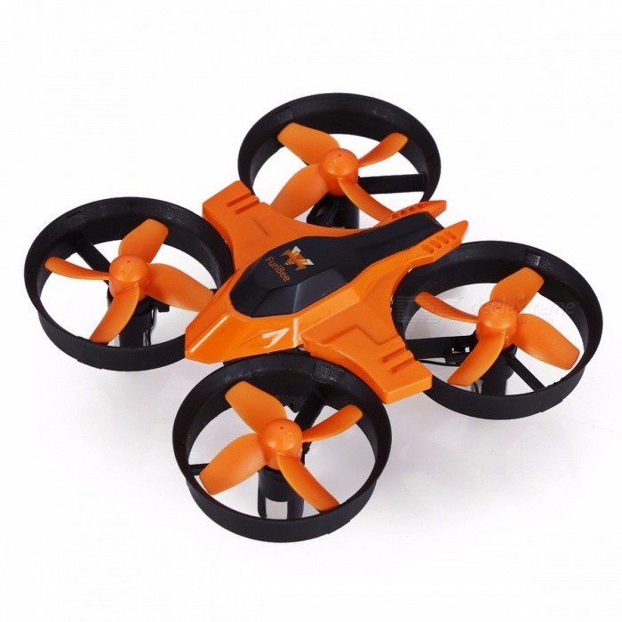 FuriBee F36 Mini UFO RTF Mode2 Quadcopter Drone, 2.4G 4CH 6-Axis Headless Mode Remote Control Toy Nano RC Helicopter for Kids