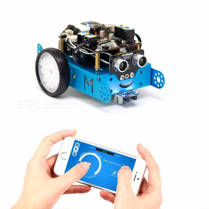 Makeblock mBot Mini Portable Upgraded Version Mbot V1.1 Arduino Robot DIY Car Kit, Kids' Educational Toy Robot