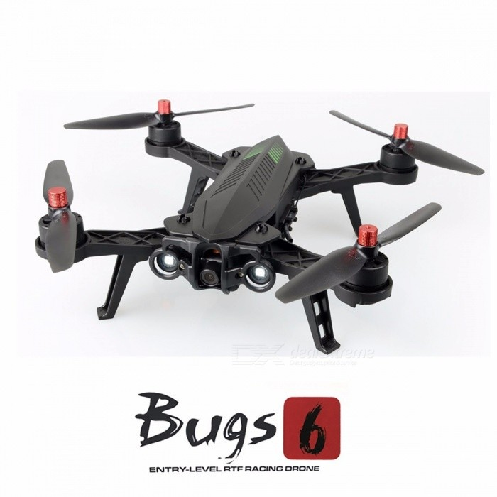 MJX Bugs 6 Professional Racing RC Drone, HD 720P 5.8G FPV and VR Glass Live Video Quadcopter w/ RTF Brushless Motor