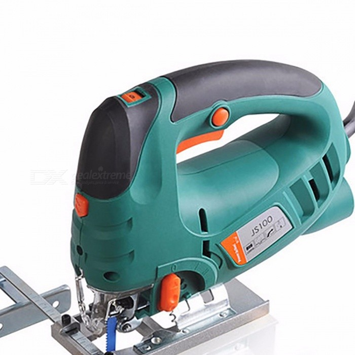 220V Electric Jig Saw, Woodworking Curve Power Tool, Multifunction Chainsaw Hand Saws Cutting Machine Woodsaw