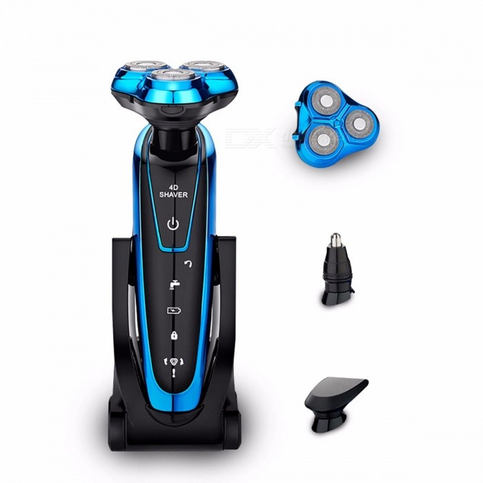 TINTON LIFE Portable Washable Rechargeable Electric Shaver Razor, Electric Shaving Beard Machine for Men