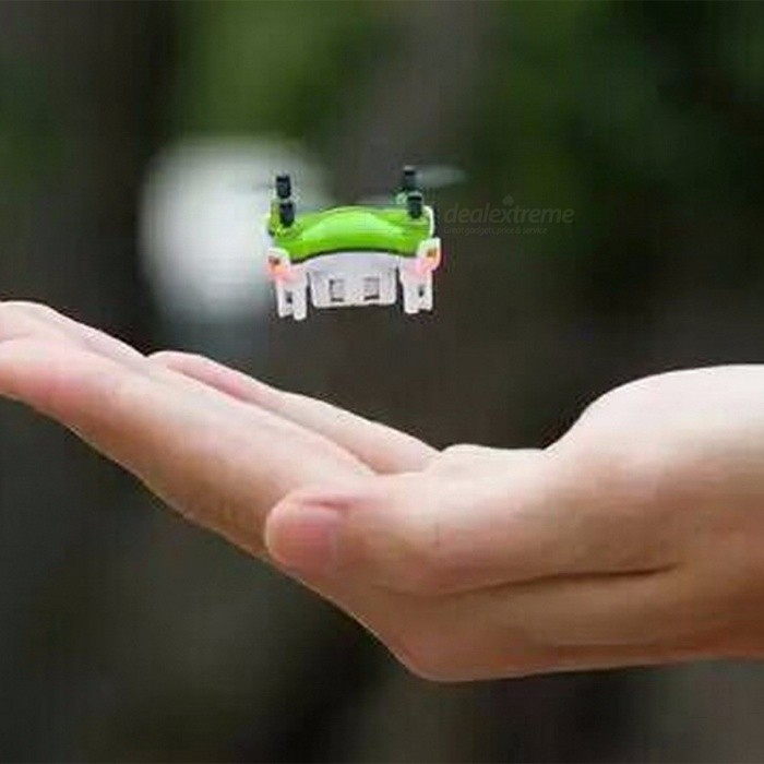 Portable Ultra Mini 2.4G 4CH 6-Axis 3D Roll Remote Control Helicopter Drone Toy with Light for Kids
