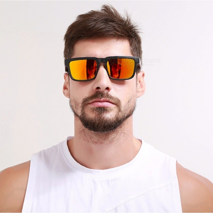 KDEAM KD901P Premium Polarized Square HD Lens UV400 Mens Sun Glasses Eyewear, Sport Sunglasses with Case Polarized with Case/C23Sunglasses<br>Description<br><br><br><br><br>Eyewear Type: Sunglasses<br><br><br>Item Type: Eyewear<br><br><br><br><br>Department Name: Adult<br><br><br>Gender: Men<br><br><br><br><br>Style: Square<br><br><br>Lenses Material: Polaroid<br><br><br><br><br>Lenses Optical Attribute: Mirror,UV400,Anti-Reflective,Polarized<br><br><br>Brand Name: KDEAM<br><br><br><br><br>Frame Material: Plastic<br><br><br><br><br><br><br><br><br><br>Bridge Width: 15mm <br><br><br>Temple Length: 135mm <br><br><br>Frame Width: 144mm <br><br><br>Sunglasses Function: Ultraviolet-Proof, Anti-Glare, UV400, Polarized, Mirror <br><br><br>Use Occasions: Decorated,Outdoor,Shopping, Party, Driving, Sport,Fishing <br><br><br>Color: 11 colors <br><br><br>Feature: All Photos Of Product Are 100% Real Taken <br><br><br>Packing List: SunglassesX1,Cleaning ClothX1,Hard CaseX1,Test cardX1 <br><br><br>Suit For Face: Long Face/Square Face/Round Face/Oval Face<br>