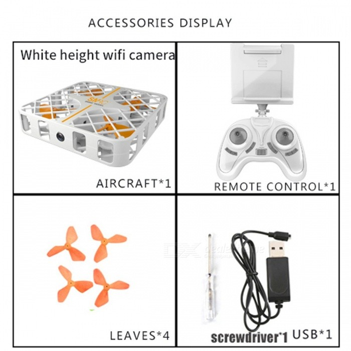 SMRC M8HS New Style Mini Remote Control Helicopter Drone, HD USB FPV Wi-Fi Fan Shape RC Hornet Toy Birthday Gift for Kids
