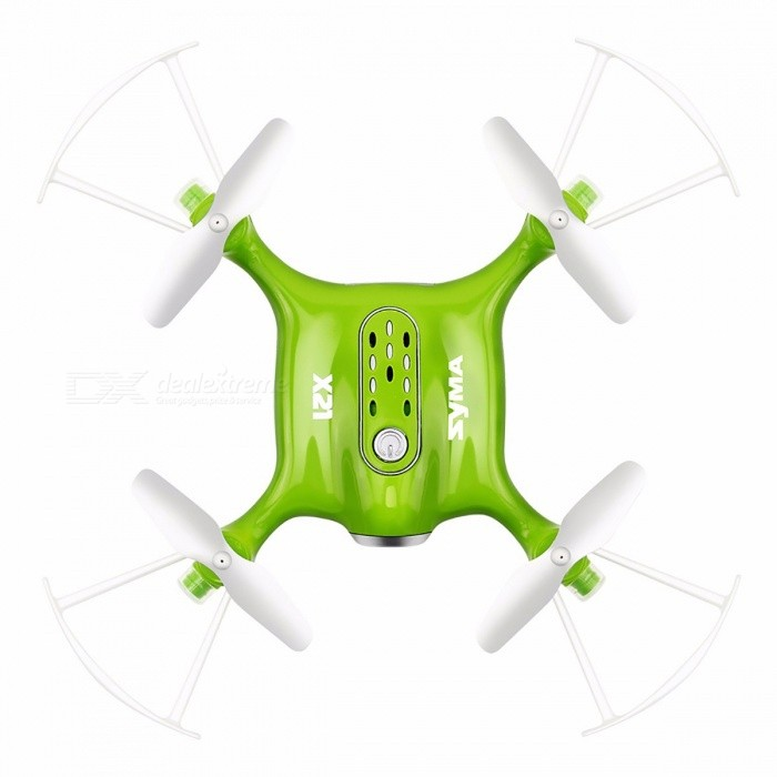 Syma X21 Mini 2.4G 4CH RC Drone Quadcopter Helicopter with Headless Mode, Hover, Fixed Height, without Camera