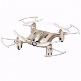 SYMA X20 Mini 2.4G 4CH 6-Aixs Gyro RTF RC Drone Quadcopter with Headless Mode, Altitude Hold, 3D-Flip Functions gold