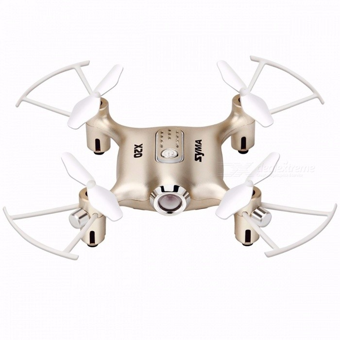 SYMA X20 Mini 2.4G 4CH 6-Aixs Gyro RTF RC Drone Quadcopter with Headless Mode, Altitude Hold, 3D-Flip Functions