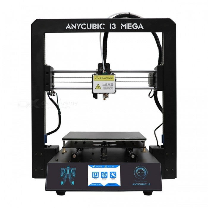 Anycubic I3 Mega Premium Full Metal Frame Colorful Industrial Grade High Precision Affordble Desktop 3D Printer