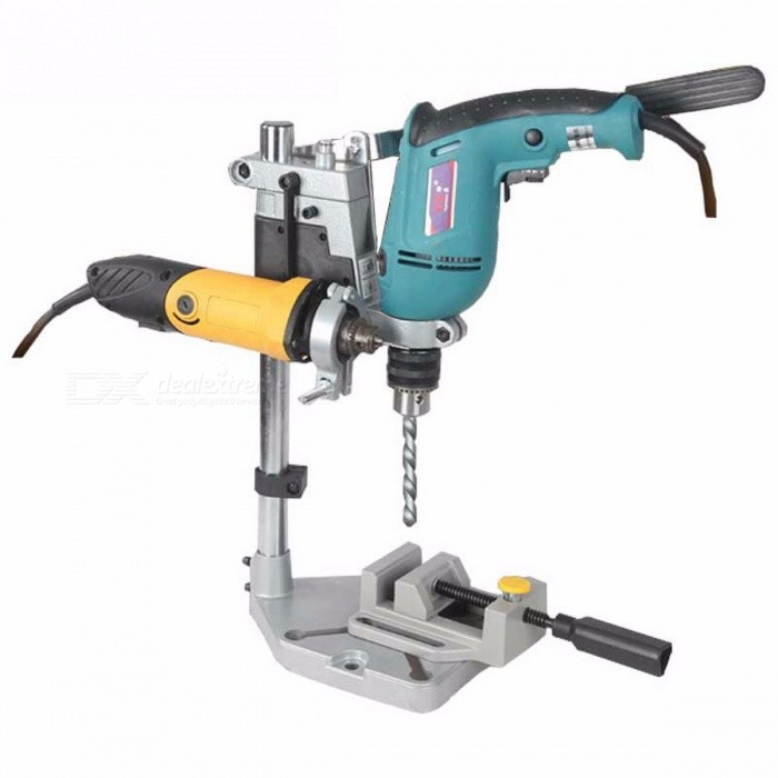 Dremel Electric Drill Stand Power Tool Accessories, Bench Drill Press Stand DIY Tool Base Frame Drill Holder Attachment