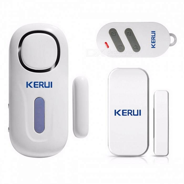 KERUI Mini Wireless PIR Door / Window Magnetic Security Burglar Alarm with Remote Control for Home / House / Shop / Office