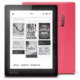 kobo N514 e-book reader e-ink 6 inch 1024x758 resolutie ingebouwd front light ebook reader wifi 4GB geheugen e-book reader + case + screen protector sets