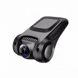 Novatek 96655 Wi-Fi Full HD 1080P Car DVR Dashcam Dash Camera without Screen, 170 Degree Video Camera Recorder with Night Vision None/Black