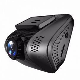 "mini full HD 1080P carro DVR 2.0"" dashcam camera video recorder 170degree novatek 96655 com g-sensor visão noturna monitor de estacionamento preto"