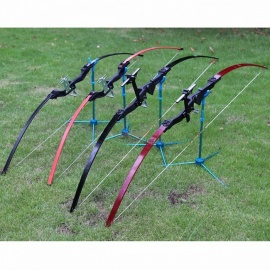Straight Bow Archery Competitions Fitness Two Color 30lbs Recurve Bow High Quality Hunting Compound Bow Burgundy