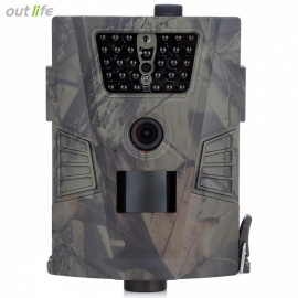 Outlife HT-001 Hunting Trail Camera, 940nm Wild Camera with GPRS, 720P Night vision for Animal Photo Traps army green