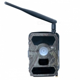 1080P HD Wireless Trail Hunting Camera Commander 3G AT-T with Viewing Screen SIM Card Cellular 12MP 56-LED picture color