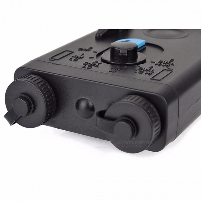 Tactical Airsoft AN PEQ-2 Battery Case Box Red Laser for 20mm Rails No Function L100mm x W65mm x H20mm PEQ Box