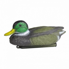 Portable Premium PE Material Lifelike Floating Duck Decoy, Hunting Baits for Outdoor Hunting Shooting picture color