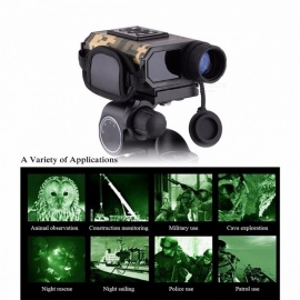 LaserWorks Night Vision Hunting Range Finder, Digital Infrared IR Device Monocular Scope Telescope Rangefinder Multi