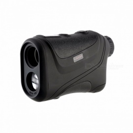 Portable 600m Handheld Waterproof Monocular Metre Golf Laser Range Finder, Hunting Telescope Distance Meter black