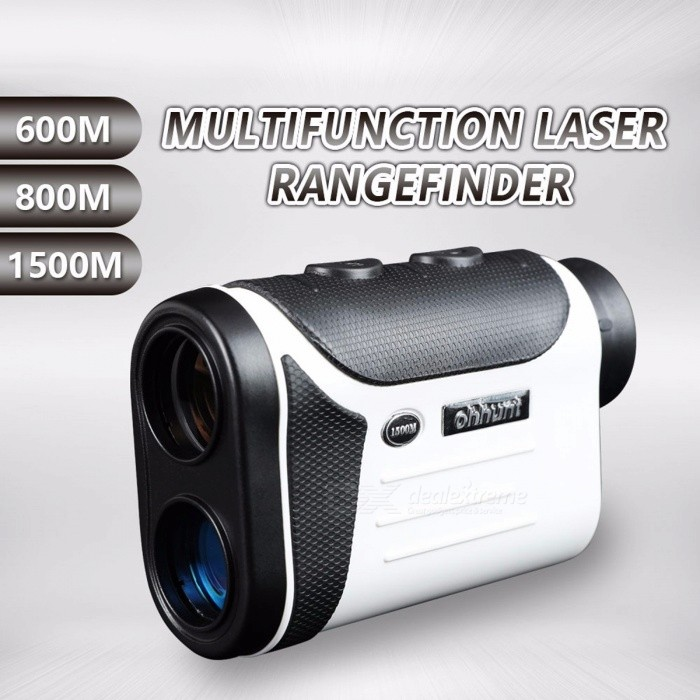 Multifunction Laser Rangefinders 8X Hunting Golf Monocular Range Finder 600M 800M 1500M Distance Meter Outdoor Measuring BlackDescription<br><br><br><br><br>Brand Name: ohhunt<br><br><br>Measurement Distance: 250<br><br><br><br><br>Operation System: Laser<br><br><br><br><br><br><br><br><br><br><br><br><br><br>Measuring Range: 5 - 600m/800m/1500m <br><br><br>Measuring Accuracy: ±0.1m <br><br><br>Measuring Unit: m <br><br><br>Angle Range: -90°~90° <br><br><br>Angle Measurement Error: ±0.35° <br><br><br>Field of View: 7° <br><br><br>Magnification: 8X <br><br><br>Objective Lens Aperture: 25mm <br><br><br>Diopter Adjustment: Yes <br><br><br>Focusing Method: Eyepiece Focusing <br><br><br>Power Supply: 1 * CR2 3V Batteries (not included) <br><br><br>Size: 120x79x44mm <br><br><br>Net Weight: 200g<br>