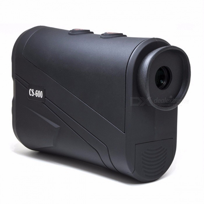 600m Hunting Laser Rangefinder Monocular Telescope, Flagpole Locked Distance Speed Measuring Golf Range Finder