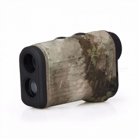 HS28-0018 600m Laser Rangefinder Range Finder, Laser Distance Meter / Speed Measure Tester Monocular for Hunting Green