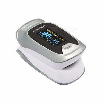 Jumper JPD-500F Wireless Bluetooth Finger Pulse Oximeter Blood Oxygen Saturation Oximetro De Dedo Monitor For IOS Android Silver
