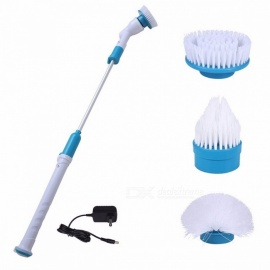 Multifunction Tub and Tile Scrubber Cordless Power Spin Scrubber, Power Cleaning Brush for Bathroom Floor Wall EU Plug
