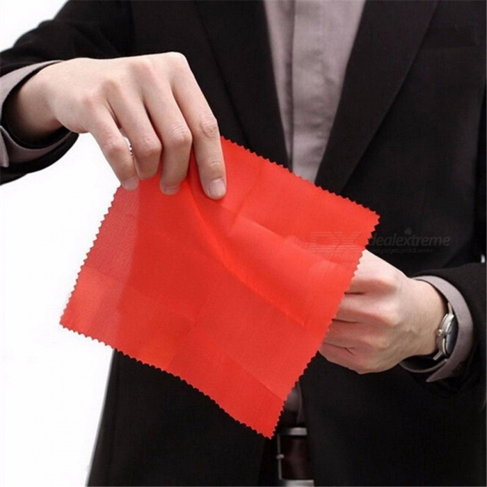 MAYITR Fun Thumb Tip Finger with Red Cloth Thumb Finger Vanishing Children Kids Amazing Gift Decor Gift Board Table Game - 2PCS