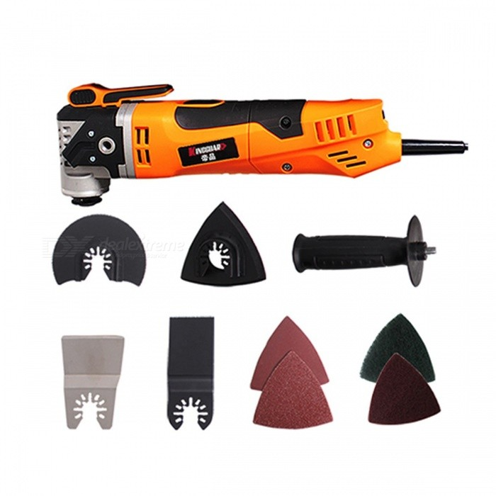 KINGGUARD Multifunctional Electric Saw Oscillating Trimmer Home Renovation Tool Trimmer woodworking Renovator Tool XZJ03Description<br><br><br><br><br>No-Load Speed: 11000rpm<br><br><br>Rated Input Power: 250W<br><br><br><br><br>Brand Name: king guard<br><br><br>Frequency: 50Hz<br><br><br><br><br>is_customized: Yes<br><br><br>Rated Voltage: 220V<br><br><br><br><br>Usage: Renovation Team<br>