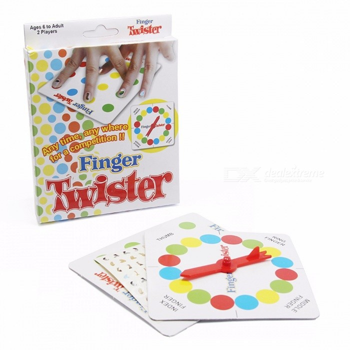 Finger Twister Portable Interesting Funny