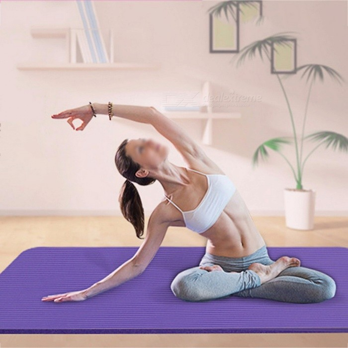 Soft EVA Foam Non-skid Gym Fitness Exercise Pad, Thickened