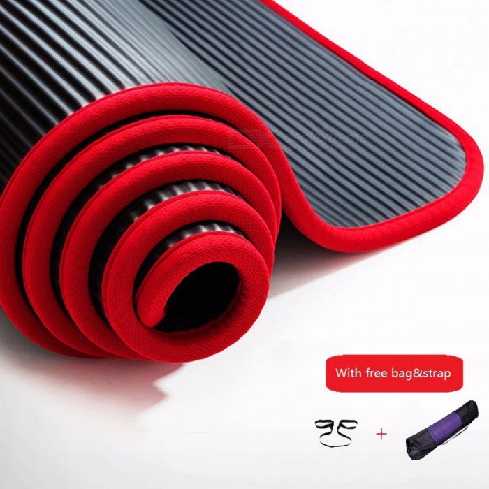 Multifunctional 183*60*10cm Edge Covered Non-slip 10mm Sports Yoga Mat Pad, Fitness Gym Colchonete Mat for Junior PinkDescription<br><br><br><br><br>Brand Name: jusenda<br><br><br>Thickness: 10 mm (Beginner)<br><br><br><br><br>Material: Other<br><br><br>Length: Other<br><br><br><br><br><br><br><br><br><br><br><br>Specifics<br><br><br>&amp;nbsp;<br><br><br><br>Item:Yoga mat <br><br><br>Size:183*60*10cm(73*23.6*3.9) <br><br><br>Material:NBR&amp;nbsp; <br><br><br>Function:Can be used as&amp;nbsp;yoga mat/camping mat/slimming mat/bodybuilding mat/baby mat/picnic mat <br><br><br>Features:With edge cover/Anti-tearing-Non-toxic/water proof/High density <br><br><br>Applicable age group:For primary&amp;nbsp;or dayly using&amp;nbsp; <br><br><br>Package content:1 pc yoga mat<br>