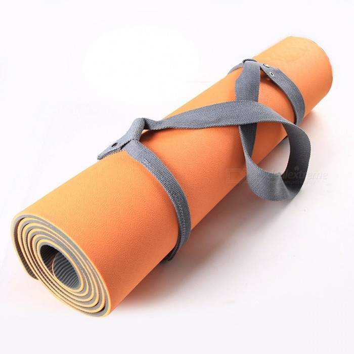New Durable Yoga Mat Adjustable Shoulder Strap Sling, Exercise Carrier Stretch Shoulder Carrying Belt PurpleDescription<br><br><br><br><br>Brand Name: TOMSHOO<br><br><br>Thickness: 1mm<br><br><br><br><br>Material: Other<br><br><br>Length: Other<br><br><br><br><br><br><br><br><br><br><br><br>Simple, lightweight makes carrying and storing your yoga mat easy and convenient.<br><br>Features:<br>Easy to apply and use, harness has adjustable loops on both ends.<br>It sits comfortably on your shoulder with 1.5 inches width.<br>Senior plating plated buckle, bright color rich texture.<br>Double duty, use it as yoga strap for yoga poses, stretch and physical rehabilitation.<br>Multi-purpose<br> strap can also be used as a stretching strap to aid in holding yoga <br>poses, physical therapy, and other fitness exercises.<br>&amp;nbsp;<br>Specification:<br>Material: Cotton<br>Color: Grey / Black / Purple(Optional)<br>Total length: 183cm / 72.0in <br>Mat inside length: 67cm / 26.3in <br>Weight: 77.8g / 2.7oz<br>Package size: 22 * 10 * 3cm / 8.6 * 3.9 * 1.1in<br>Package weight: 84g / 2.9oz<br>&amp;nbsp;<br>Package List:<br>1 * Yoga Mat Strap<br>