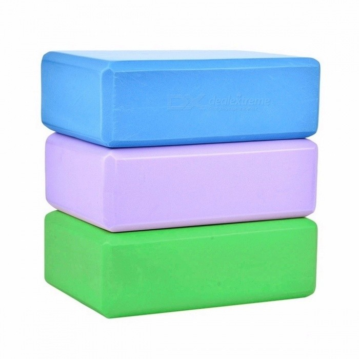 Premium EVA Foam Yoga Block Props Brick Stretching Aid, Gym Pilates Yoga Blocks for Exercise Fitness Sports PurpleDescription<br><br><br><br><br>Brand Name: MUMIAN<br><br><br><br><br><br><br><br><br><br><br><br><br>Product Info.<br><br><br>1. Product Name: EVA Yoga Block<br><br><br>2. Material: EVA<br><br><br>3. Features:<br><br><br>(1) EVA Yoga Block Foam Block, an exercise tool for family fitness&amp;nbsp;<br><br><br>(2) Yoga block is an auxiliary tool for beginners and inflexible practitioners.<br><br><br>(3) It can help us to adjust our gestures to accomplish some movements.<br><br><br>(4) Helps to avoid part of the body tension because of your stiffness<br><br><br>(5) This tool will take any part of your body as a stretching aid.<br><br><br>&amp;nbsp; <br><br><br>Size: about 23x15x8cm (9.1*5.5*2.8in)<br><br><br>&amp;nbsp; <br><br><br>Packaging Includes:<br><br><br>1 x EVA foam yoga block<br>