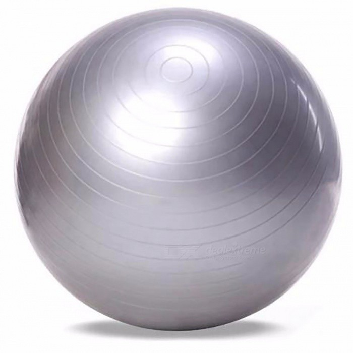 65cm Yoga Fitness Ball, Utility Anti-slip Yoga Pilates Balance Sport Fitball Slip-Proof Ball for Fitness Training Light GreyDescription<br><br><br><br><br>Style: Round<br><br><br>Brand Name: outlife<br><br><br><br><br>Size: 65cm<br><br><br><br><br><br><br><br><br><br><br><br><br>Description:<br><br><br>Want<br> to own an enviable figure? This 65cm PVC yoga ball contributes to <br>shaping a perfect curve for you. It is great for your spine and back <br>health since it enables for you to build strength, tone your muscles, <br>greatly increase your flexibility and improve balance. It is absolutely a<br> good fitness equipment that never let you down.<br><br>General Description:<br> Made with thick and durable PVC materials, easy to clean and carry<br> Anti-slip design makes training safe and increases exercise efficiency<br> Suitable for pilates, yoga, weight training and other balance sports<br> Can build muscles strength, improve body health, and shape a perfect figure<br> Humanized design, fashionable and durable<br><br>Note: <br><br><br>1, Please measure the Perimeter when it is not flated(Error 1-2cm).  <br><br><br>2,The<br> product that you purchase is in the state of compression (not a ball <br>shape), you need an additional air pump to inflate it to the effect as <br>it shows in our picture.(Air pump is not included) <br><br><br><br>&amp;nbsp;<br><br><br>Package weight: 0.847 kg<br>Package size: 17.00 x 18.00 x 6.00 cm / 6.69 x 7.09 x 2.36 inches <br><br><br>Package Content: 1 x PVC Exercise Gym Yoga Ball <br><br><br><br><br>Please Note:<br> Due to possible physical differences between different monitors (e.g. <br>models, settings, color gamut, panel type, screen glare, etc), the <br>product photography is illustrative only and may not precisely reflect <br>the actual color of the item received.<br>