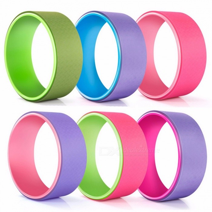 KUUBEE TPE Yoga Fitness Circle Roller Wheel Back Training Tool, Slimming Magic Waist Shape Pilates Ring PinkDescription<br><br><br><br><br>Brand Name: KUUBEE<br><br><br><br><br><br><br><br><br><br><br><br> <br><br>Material: PC+ TPE<br>Color: as link show<br>Diameter: 33*13CM<br><br><br>Max loading:300kg<br><br> <br><br><br><br><br>&amp;nbsp;Features:<br>1.Durable and practical<br>2.Essential tool for Pilates<br>3.Very suitable for anyone who wanna keep fit<br>4.Add intensity to floor exercises to build body muscles<br>5.4 Color available, you have more choices to buy the one you prefer<br>6.Very convenient, you can do Pilates at home when you are not busy<br>7.Very useful for the inner and outer thighs, upper arms, and the chest and even the pelvic muscles<br>