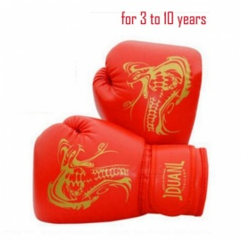 Universal Portable 1 Pair Snake Pattern Boxing Gloves Mitts for Bag Punch Training Family Matching Fighting adult white