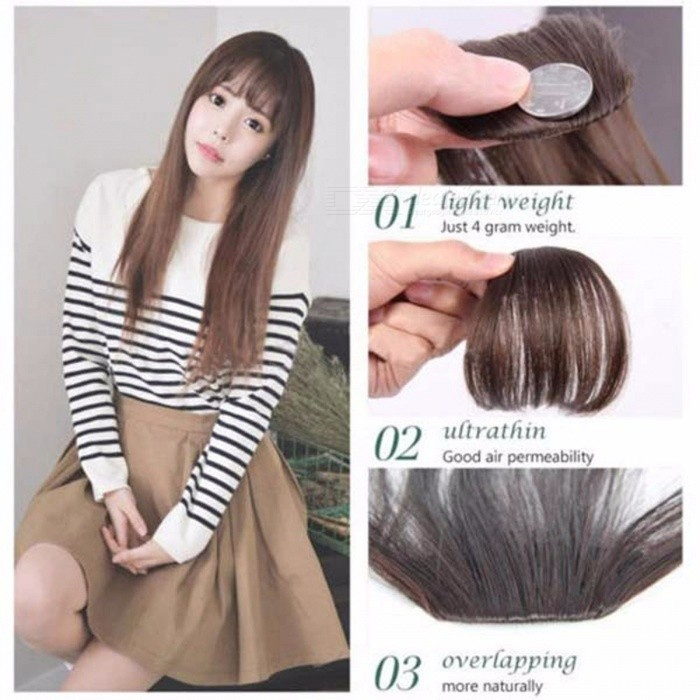 Clip-On Type Front Neat Bang Hair Extension 3edbe524c0