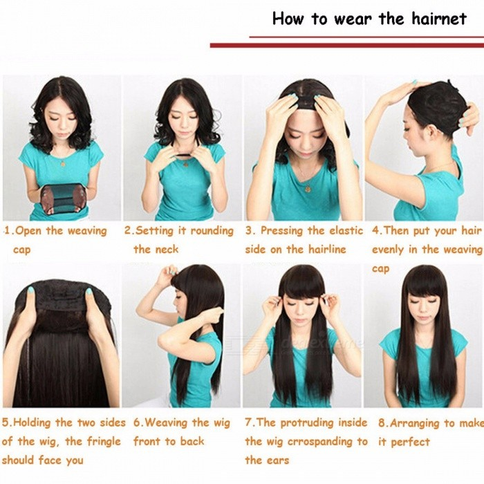Essential Hairnet Hair Net Wig Cap Free Size Breathable Bouncy