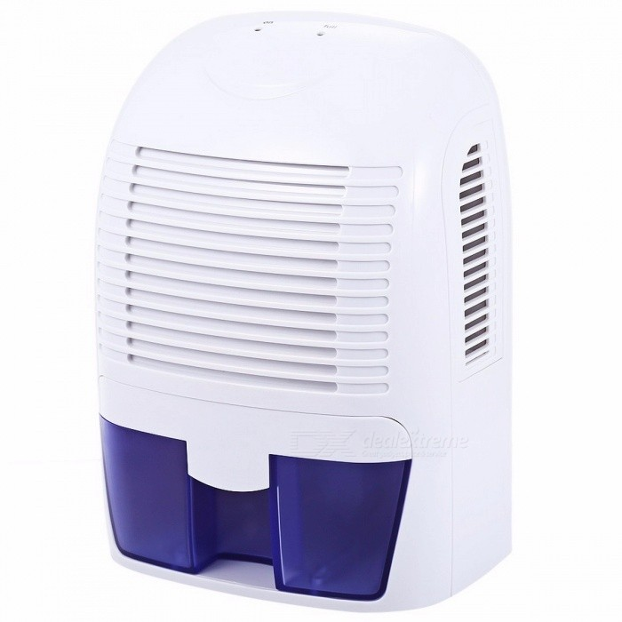 1500ml Electric Air Dehumidifier Automatic Standby Quiet Moisture Absorbing Smart Air Dryer Cabinet XROW-800A US PlugDescription<br><br><br><br><br>Dehumidification Volume: &amp;lt;1.1L/h <br><br><br>Water Tank Capacity (l): 1.1-2.5L <br><br><br><br><br>Certification: RoHS,CE,UL <br><br><br>Dehumidifying Technology: Compressor <br><br><br><br><br>Function: Removable Water Tank <br><br><br>Type: Refrigerative Dehumidifier <br><br><br><br><br>Application: 11-20? <br><br><br>Power (W): 60w <br><br><br><br><br>Brand Name: Excelvan <br><br><br>Voltage (V): Other <br><br><br><br><br><br><br><br><br><br><br>This multi-functional semiconductor dehumidifier is<br> a fabulous household appliance for easily drying out damp air. It <br>protects your home from mold and mildew caused by excess moisture and <br>helps you keep away from bacteria in the air. <br><br><br><br> <br><br><br>Features:<br>- Innovative compact design: portable<br> and lightweight design, it is easy to be moved from room to room, and <br>its size is perfect for the bathroom, kitchen, closet, bedroom, office, <br>etc.<br>- Easy to use: connect<br> the power adapter to the dehumidifier and to an electrical wall socket,<br> then switch the ON / OFF button, and you will feel air blowing out of <br>the dry air outlet.<br>- Improve your home environment: activated<br> carbon integrated into its lids of air outlets which can absorb <br>poisonous gas and odor, keeping your room full of purified air.<br>- Super quiet: with its super silence design, you can enjoy sleeping and working without disturbing. <br>- Filled tank shut off automatically: you dont need to worry about spilling or overflowing, because it will shut off automatically when water tank is filled.<br>- Fashionable and exquisite design: adopted<br> advanced ABS material, it resists abrasion and corrosion. Cute and <br>fashionable appearance, it is also a perfect decoration.<br>- Large water tank capacity: 1.5L volume is enough for you to dry your whole room.<br>