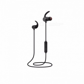 BINAI A1 In-ear Earphone CSR4.2 Bluetooth Headset IPX4 Waterproof Sport Running Earphone for MP3/MP4/Phone Music Player Black