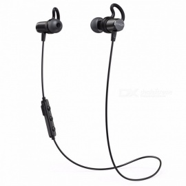 Anker SoundBuds Surge Lightweight Wireless Headphones Bluetooth 4.1 Sports Earphones with Water-Resistant Nano Coating Black