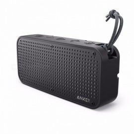 Anker SoundCore Sport XL Portable Bluetooth Speaker,16W Audio Output,2 Subwoofers,66ft Bluetooth Range,15H Playtime,Built-in Mic Black