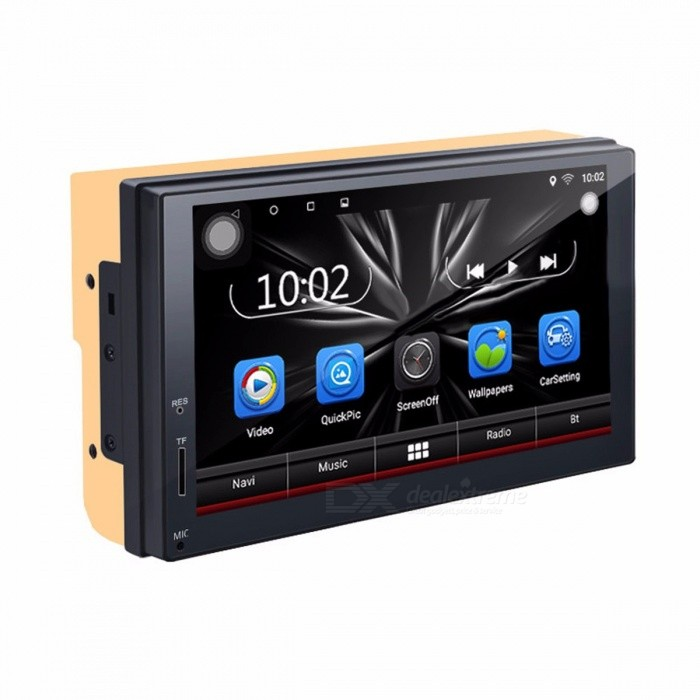 2 Din Car DVD Player Android Radio Bluetooth GPS Navigation WiFi Stereo Video 7 Inches 1024*600 Universal Car Multimedia Player